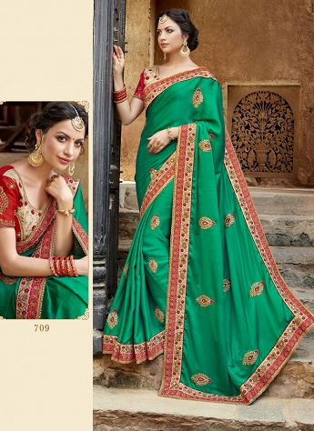 Exquisite Designer Saree For Bridal